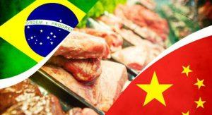 Comércio de carnes Brasil-China: um grande negócio com o gigante asiático